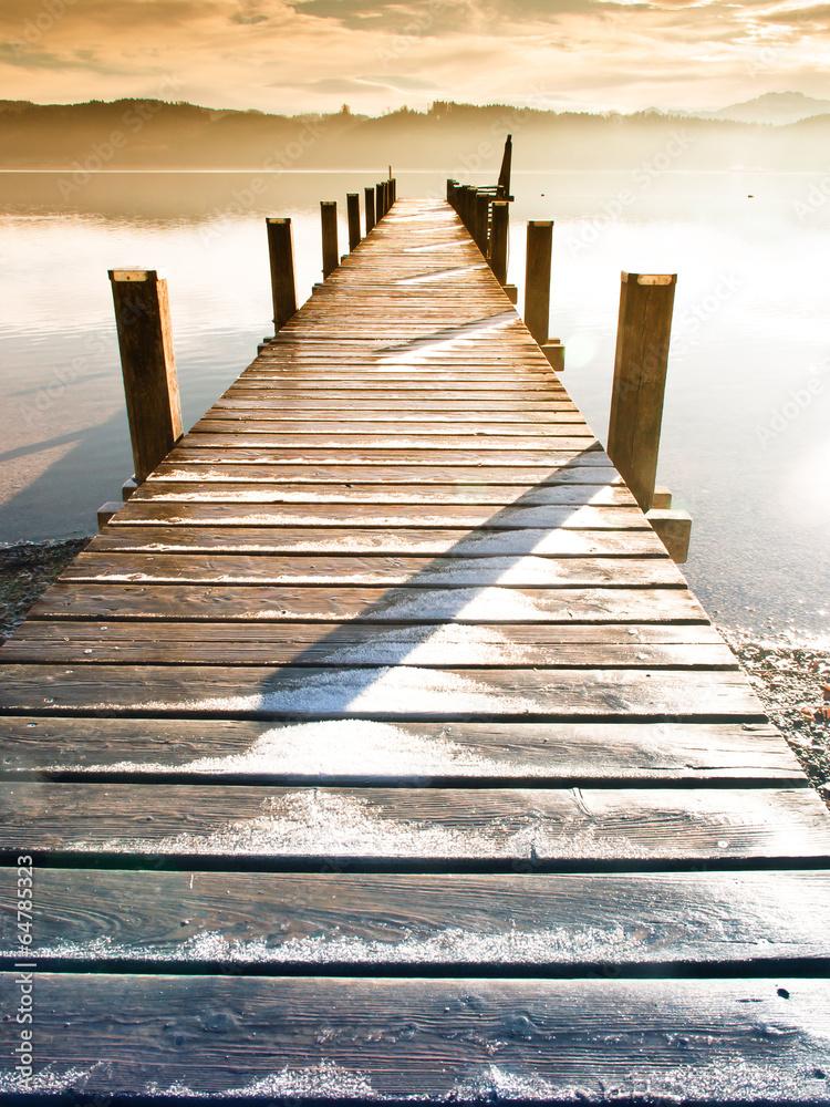 Fototapeta wooden jetty (75)