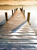 Fototapeta Bridge - wooden jetty (75)