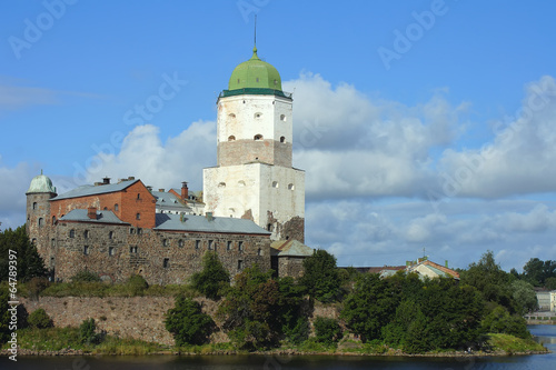 Fotografie, Obraz  Vyborg castle