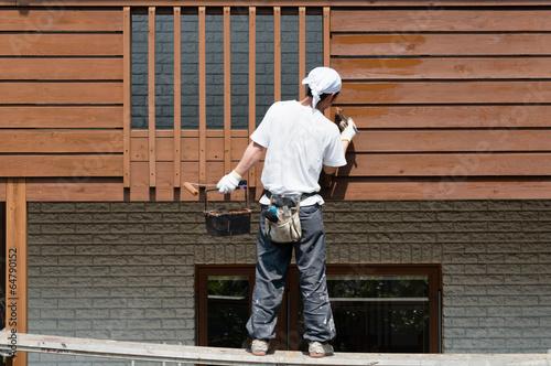 外壁塗装 Fototapet
