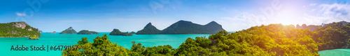 obraz dibond Tajlandia panorama.