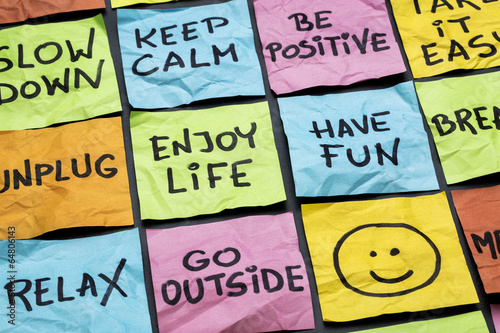 Fotografia relax, keep calm, enjoy life