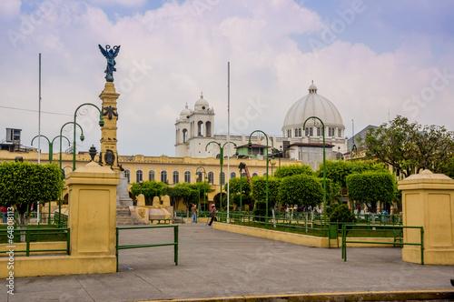 Fotografía  La Libertad Plaza in San Salvador
