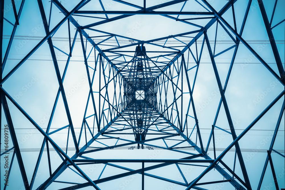 Fototapety, obrazy: electricity pylon