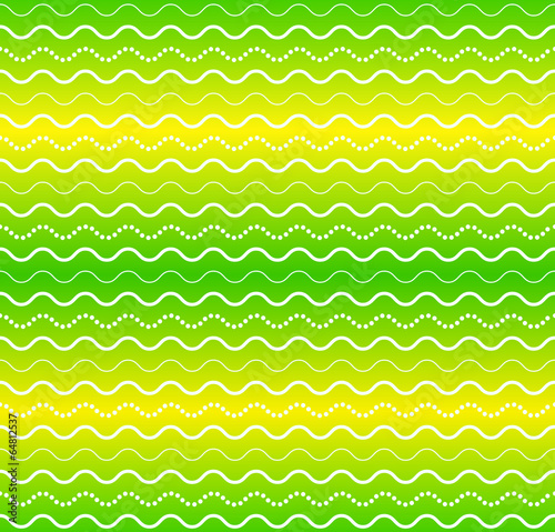 Fotomurales - Vector seamless abstract pattern, waves