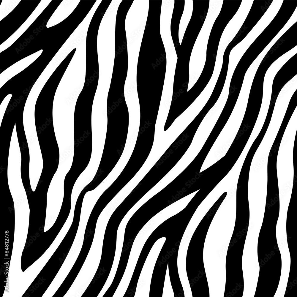 Fototapety, obrazy: Zebra Stripes Seamless Pattern