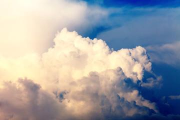 Naklejka blue sky with clouds