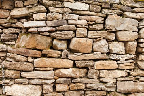 szorstka-kamienna-sciana-z-duzych-i-malych-kamieni