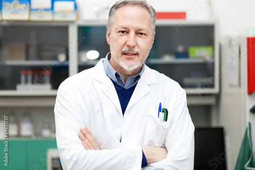 Fotografía  Científico en un laboratorio