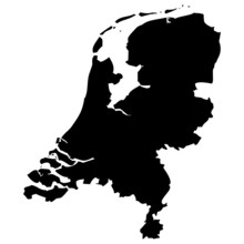 High Detailed Vector Map - Netherland.