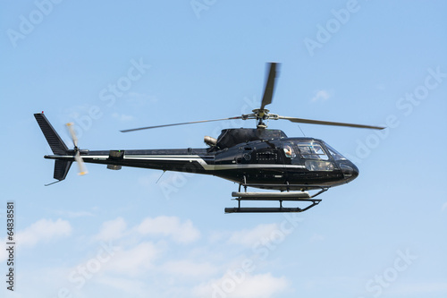 Tuinposter Helicopter Helicopter for sightseeing