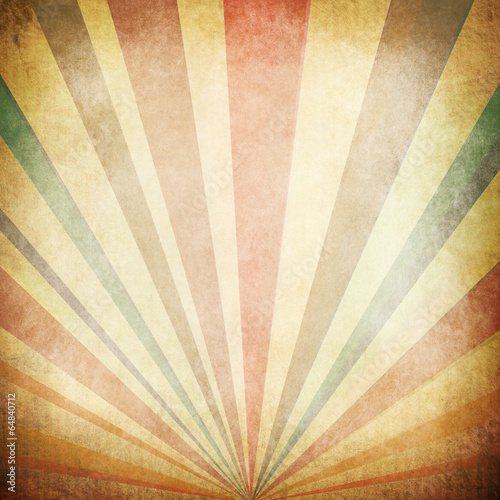 Deurstickers Retro Vintage Sunbeams Background