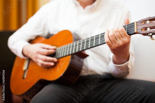 Papiers peints Musique Classical guitarist