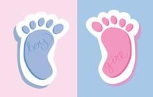 Boy Girl Feet