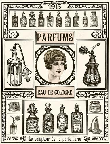 fototapeta na ścianę Parfumerie