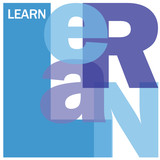 """""""LEARN"""" Letter Collage (education training e-learning school)"""