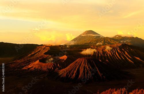 Garden Poster Mt. Bromo Volcano, Indonesia