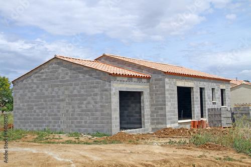 Foto  Maison en construction