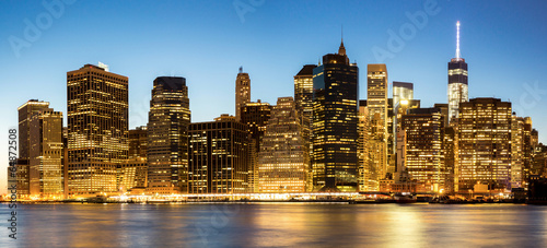 Panorama of New York City