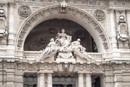 Fotografija  Palace of Justice, Rome, detail
