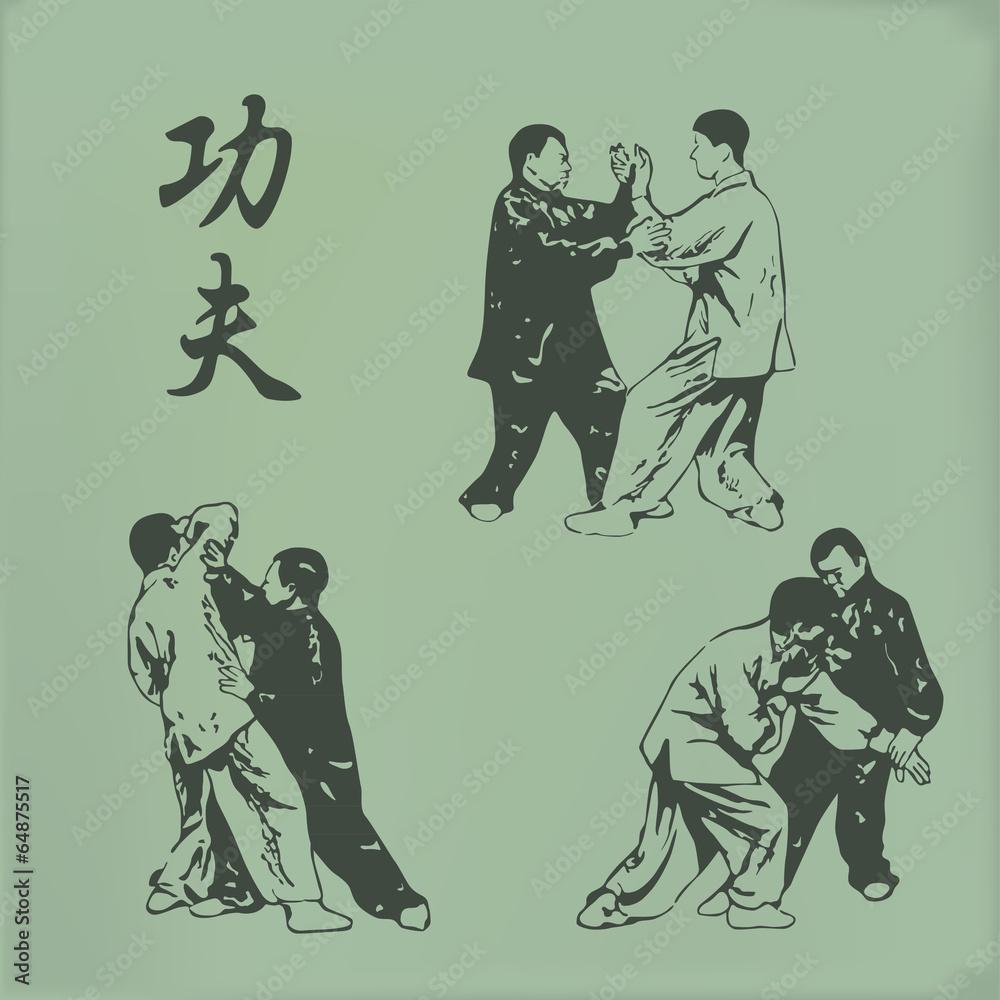 Fotografie, Obraz  Kung fu