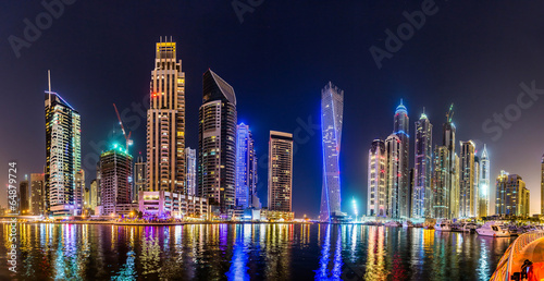 Photo  Dubai Marina cityscape, UAE