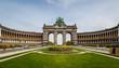 canvas print picture - Arch de Triumph Brussels