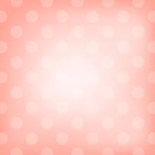 Polka Dot Pink Background