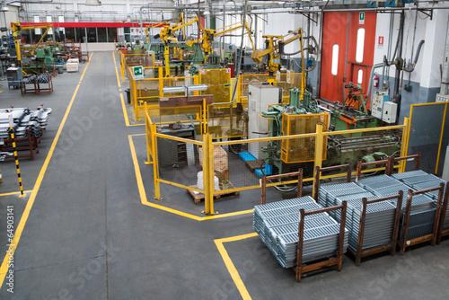 Fotografie, Obraz  industria meccanica
