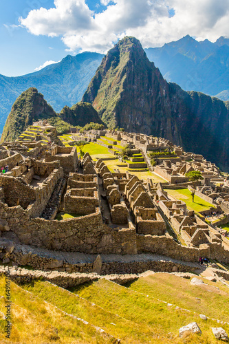 Fotografie, Obraz  Mysterious city - Machu Picchu, Peru,South America.