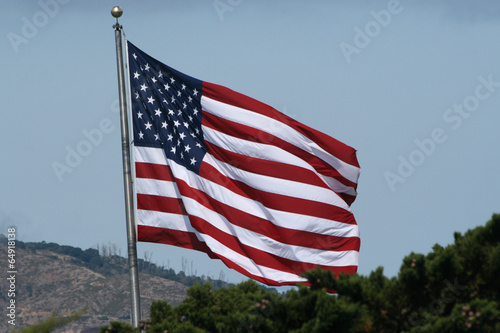 Fotografia  Amerikanische Flagge