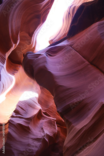 Poster Bordeaux Antelope Canyon Felsen