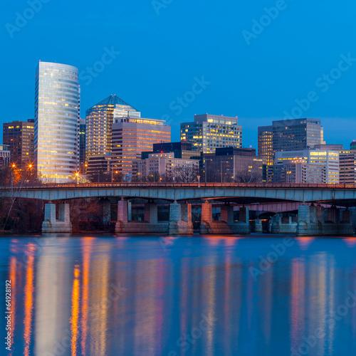 Fototapeta  Rosslyn skyscrapers  Washington DC - United States