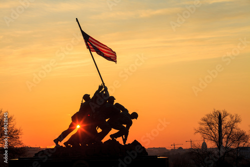 plakat Iwo Jima Memorial Washington