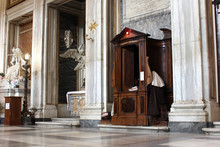 Rome - Sainte-Marie-Majeure / Confessionnal