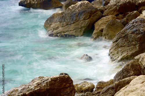 Mediterranean coast - 64934593