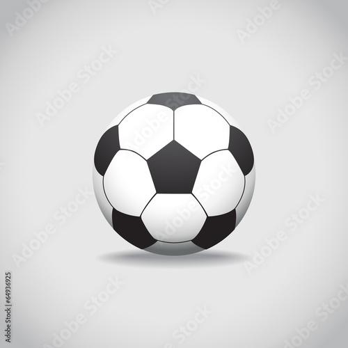 Fotografie, Tablou  Soccer ball
