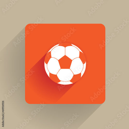 Photo  Soccer ball