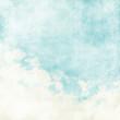 Leinwandbild Motiv Water color like cloud on old paper texture background