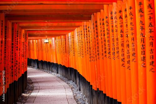 Papiers peints Japon Fushimi Inari Taisha Shrine in Kyoto, Japan