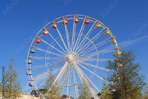 Papiers peints Attraction parc Grande roue de la Rochelle