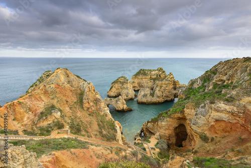 Printed kitchen splashbacks Coast Algarve e a costa de Lagos