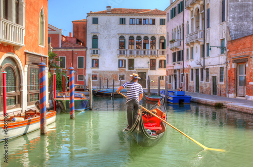 Photo sur Toile Gondoles Venice Gondola Ride