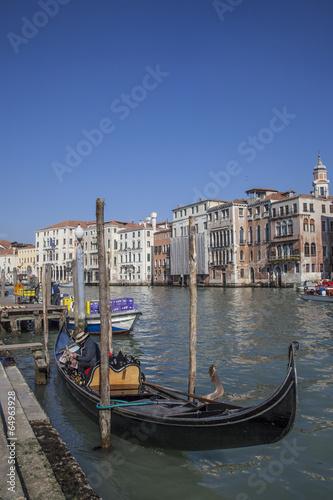 Türaufkleber Gondeln Venezia