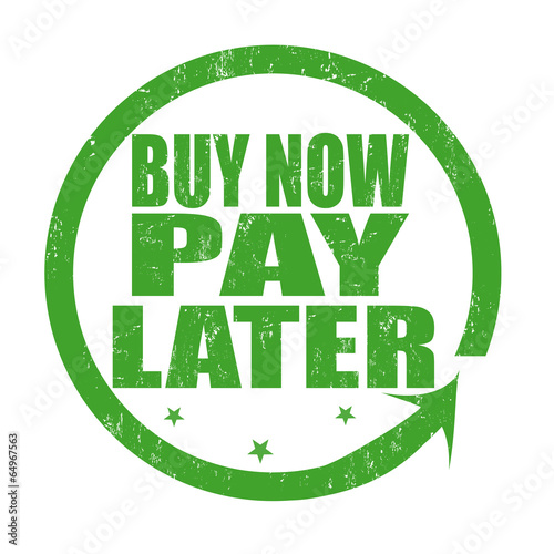 Cuadros en Lienzo Buy now pay later stamp