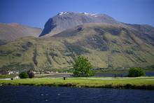 Ben Nevis From Corpach, Lochab...