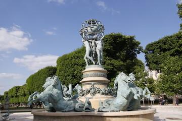 Fototapeta na wymiar Paris - Fountain