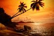 Photo of sunrise on sea