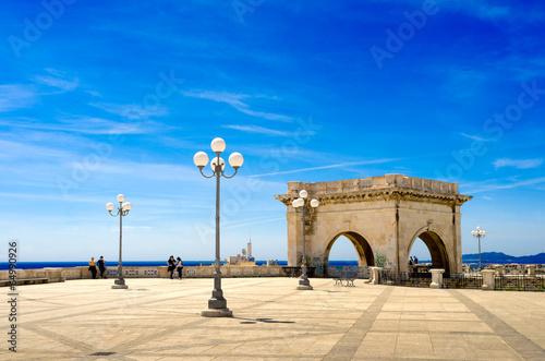 Fotografie, Obraz Sardegna, Cagliari, Bastione Saint Remy