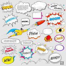 Comic Speech Bubble